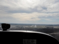 Final Approach Runway 18 Fling Bishop Airport KFNT